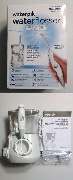 Air and Water Flossers: Waterpik Wp-660 Aquarius Professional Water Flosser Oral Pik Dental Cleaning BUY IT NOW ONLY: $69.95
