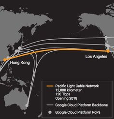 The Pacific Light Cable Network will allow for a whole lot of speedy data transfers.