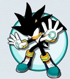 Super Dark Silver the Hedgehog pin!