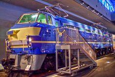 鉄道博物館EF66形式電気機関車