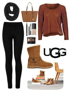 """The New Classics With UGG: Contest Entry"" by roxana20 on Polyvore featuring UGG, Wolford, Paula Bianco, MICHAEL Michael Kors, NARS Cosmetics, MAC Cosmetics, Guerlain and ugg"