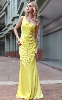 OK girls don't freak, I'm not crazy about the texture on this dress but I love THIS COLOR YELLOW!