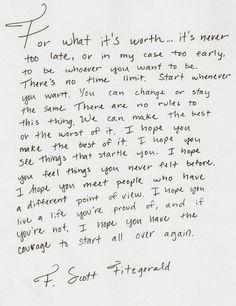 F. Scott Fitzgerald ~ ♡.
