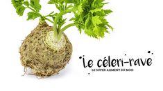 Copain de la silhouette, amis des os et allié anti-cancer... le céleri-rave a tout pour plaire ! Celerie Rave, Silhouette, Vegetable Dish, Eat, Food