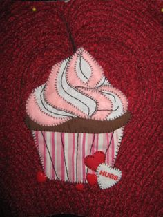 February Panel - Cupcake Quilt