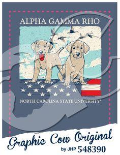 Labrador retriever dog puppy duck American flag hunting #grafcow