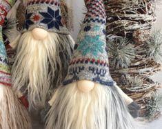 Tomte Nisse Gnome SANTA Elf troll Christmas von DaVinciDollDesigns