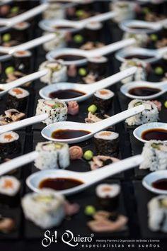 Si Quiero Wedding Planners boda en sotogrande sushi bar