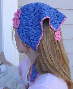 Crochet Kerchiefs on Pinterest Kerchief, Head Scarfs and ...