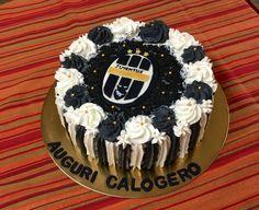 #Torta #Compleanno #Juventus #Panna