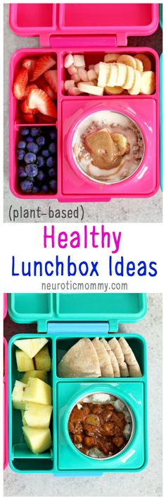Healthy Lunchbox Ideas With Omiebox - Hot and cold bento box to make kids lunch irresistible! There's nothing better than sending your kid off to school with a healthy and nutritious meal that will stay fresh. Chicken Nuggets, Kindergarten Lunch, Vegetarian Kids, Vegan Lunches, Box Lunches, School Lunches, Kids Lunch For School, Kids Nutrition, Vegan Dishes