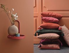 If you like such unusual colors as ocher, brown, terracotta and the like, then you will love the new collection by Danish brand Bloomingville. It is ✌Pufikhomes - source of home inspiration Decor, Interior Design Color, Interior, Beautiful Interiors, Home Decor, House Interior, Fall Colors, Interior Design, Color Design