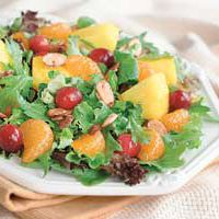 Cranberry Pineapple Holiday Salad