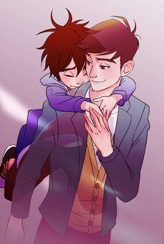 Hiro and Tadashi Hamada's brotherly love moment