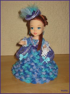 doll 7 - model of the Baroque period
