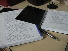 study-hack:  I use the same journals, they are great!