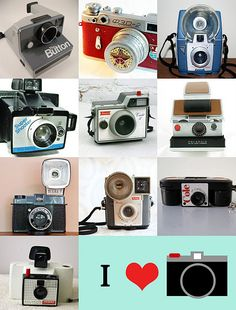 I have a passion for Vintage cameras