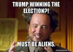 Ancient Aliens - Crazy History Channel Guy meme