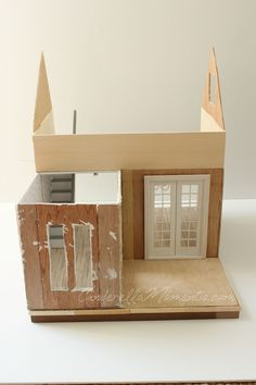 Cinderella Moments: Dollhouse Custom Construction Tutorial Part 2 - Featuring Lilac Cottage
