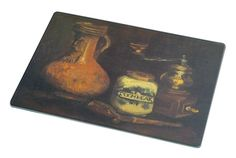Rikki Knight RK-LGCB-1372 Van Gogh Art Coffee Mill Glass Cutting Board, Large, White >>> Hurry! Check out this great product (This is an amazon affiliate link. I may earn commission from it)