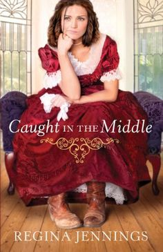 Caught in the Middle (Ladies of Caldwell County Book #3) by Regina Jennings, http://www.amazon.com/dp/B00DWA6A7M/ref=cm_sw_r_pi_dp_CHKytb1G0E8M6