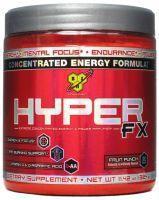 BSN Hyper FX to najnowsza przed-treningówka od BSN Nutrition. Produkt zwiększa siłę, wytrzymałość, pozwala na przeprowadzenie naprawdę ciężkich treningów. Powoduje też napompowanie mięśni. #sila #masa #silownia