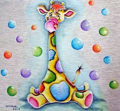 Arte * Vida: Girafinha