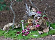 Gypsy Magic: Fancy Fairy Houses