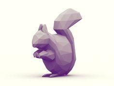 Squirrel by Timothy J.Reynolds