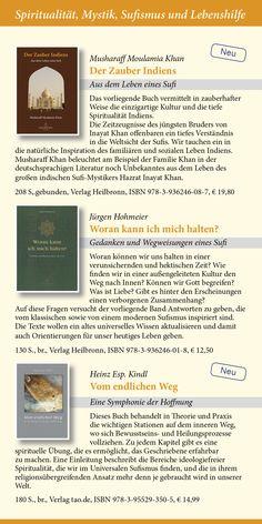 Katalog 2015 vom Verlag Heilbronn -  Seite 13 - Sufibücher: Der Zauber Indiens - Aus dem Leben eines Sufi, Woran kann ich mich halten?, Vom endlichen Weg.   www.verlag-heilbronn.de