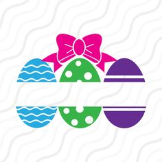 A personal favourite from my Etsy shop https://www.etsy.com/sg-en/listing/507419279/split-easter-eggs-svgeaster-eggs-svg