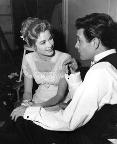Grace Kelly and Louis Jordan, The Swan