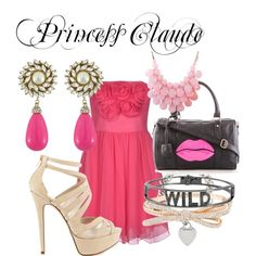 Princess Claude by tinyqueen19 on Polyvore featuring Blugirl, ALDO, Ashley Stewart, Spallanzani, Tiffany & Co., Kate Spade. #reign #style #princess #claude #cw #inspired