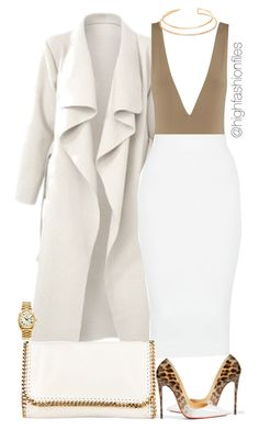 """""""Grind don't stop"""" by highfashionfiles on Polyvore featuring Christian Louboutin, BERRICLE, STELLA McCARTNEY and Rolex"""
