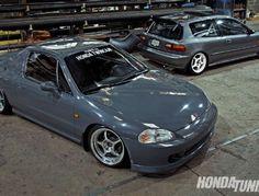 1993 Honda Civic Si & 1994 Honda Del Sol - Honda Bond  #Honda #HondaCivic #HondaCars