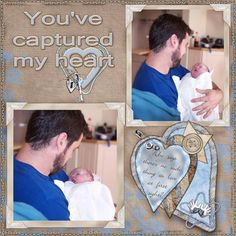 You've captured my heart - Scrapbook.com