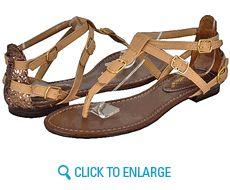 All New Breckelles Stacy-31 Blush Women Flat Sandals