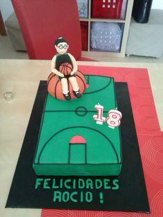 Basketball Torte für meine Nachbarin zum 18. Geburtstag