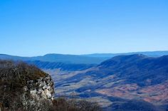 Clinch Mountain in Tazewell County Virginia