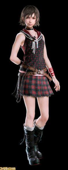 Iris Amicitia, Final Fantasy XV