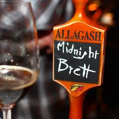 There will be brett! A black wheat ale from Allagash fermented 100% with their house Brettanomyces strain.    #nycbeerweek #brewerschoice