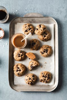 Thick and Chewy Espresso Cashew Butter Cookies Made Vegan, Gluten Free and Dairy Free. This easy to make cookies is infused with espresso and perfect for coffee lovers. #vegandessert #vegan #glutenfree #glutenfreedairyfree #cashewbutter