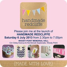 LAUNCHED 6 JULY 2013 HANDMADE REDCLIFFE ~ Twilight markets by the seaside