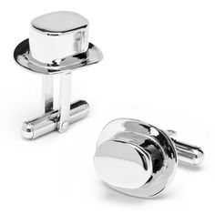 Monopoly Top Hat Playing Piece Cufflinks