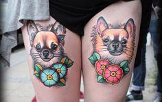 12 tatuajes de perros que no puedes perderte - http://www.tatuantes.com/12-tatuajes-de-perros/