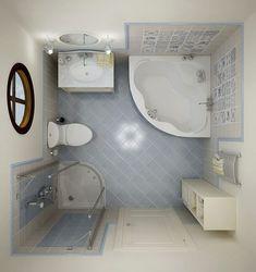 Decorar un cuarto de baño pequeño