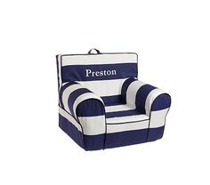 Might just have to use my coupon on this...the Navy Rugby Anywhere Chair on potterybarnkids.com