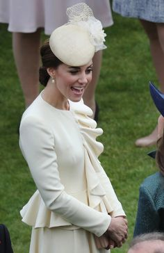 Kate Middleton Photos: Elevated View Of The Queen's Garden Party