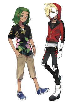 Hau and Gladion