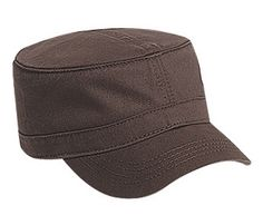 SOLID BROWN Military cap fatigue hat cadet hat - Fatigue hats, Painter hats & Rad Hats